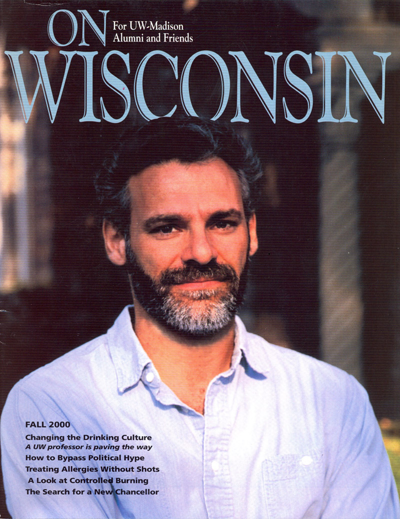 Cover from the Fall 2000 issue
