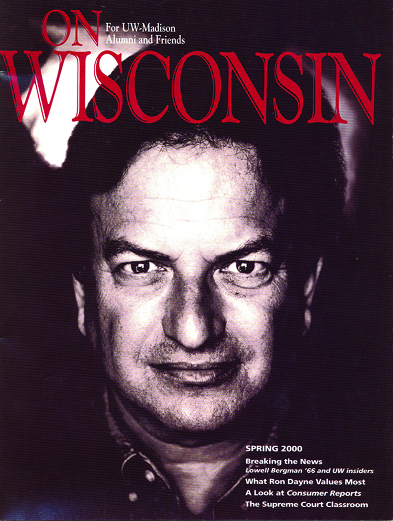 Cover from the Spring 2000 issue