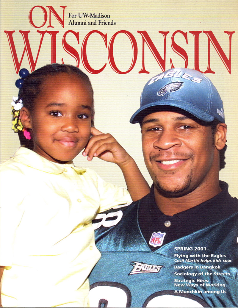 Cover from the Spring 2001 issue