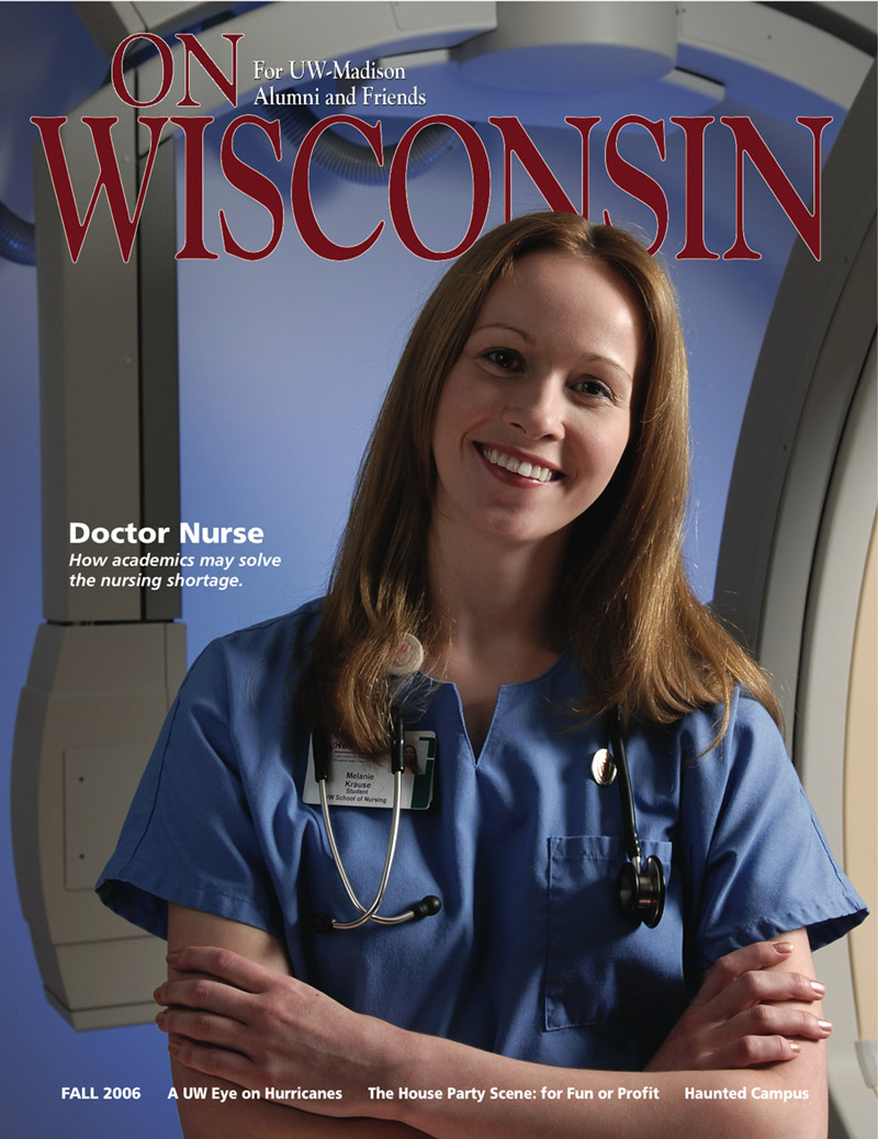 Cover from the Fall 2006 issue