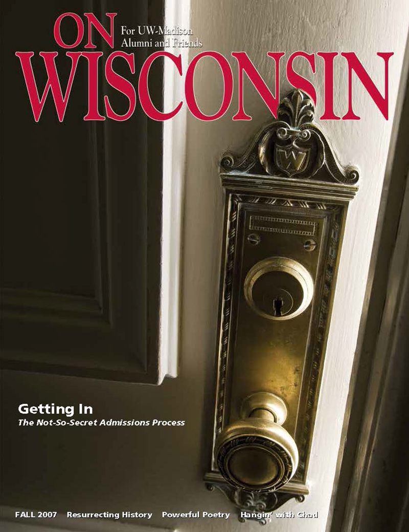 Cover from the Fall 2007 issue