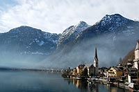 Laura Burns '09, who studied in Seville, Spain, in 2008, earned third place in the Natural Landscapes category for this photo, which she shot in Hallstatt, Austria.