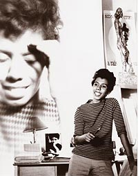 Lorraine Hansberry. Photo: National Portrait Gallery, Smithsonian Institution/Art Resource, NY