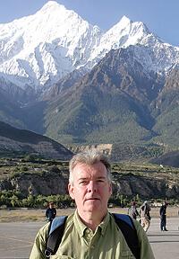Veteran traveler Everett Potter was surprised to experience culture shock in Katmandu, Nepal.