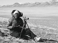 Schaller in Tibet