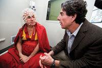 Richard Davidson speaks with Buddhist monk Matthieu Ricard
