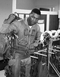 Whitaker has strong memories of his seven years in the air force — and his return to campus in 1969. Courtesy of Al Whitaker
