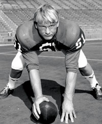 Mike Webster as a Badger
