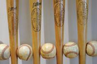 photo: bats and balls
