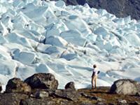 greenand glacier