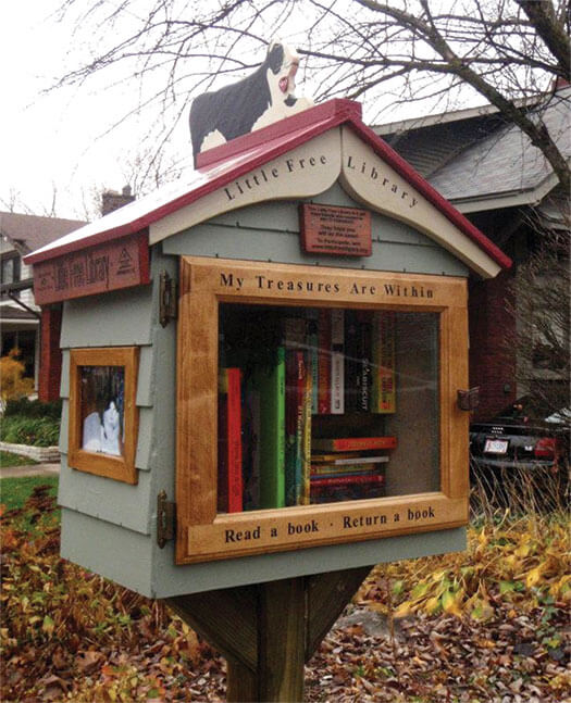 It S A Mailbox It S A Bird House No Wait It S A Library On Wisconsin Magazine