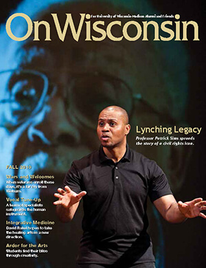 Cover from the Fall 2010 issue