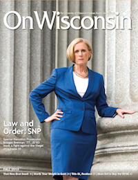 Cover from the Fall 2013 issue
