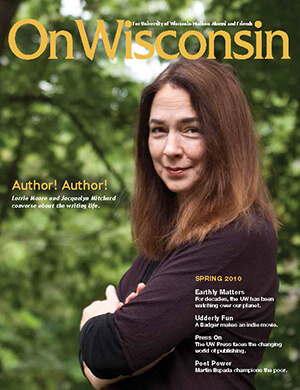 Cover from the Spring 2010 issue