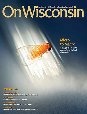 Cover from the Spring 2012 issue