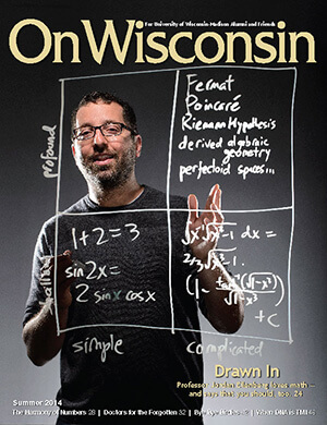 Cover from the Summer 2014 issue