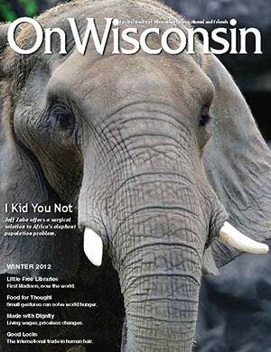 Cover from the Winter 2012 issue