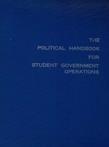 political handbook for student government operations
