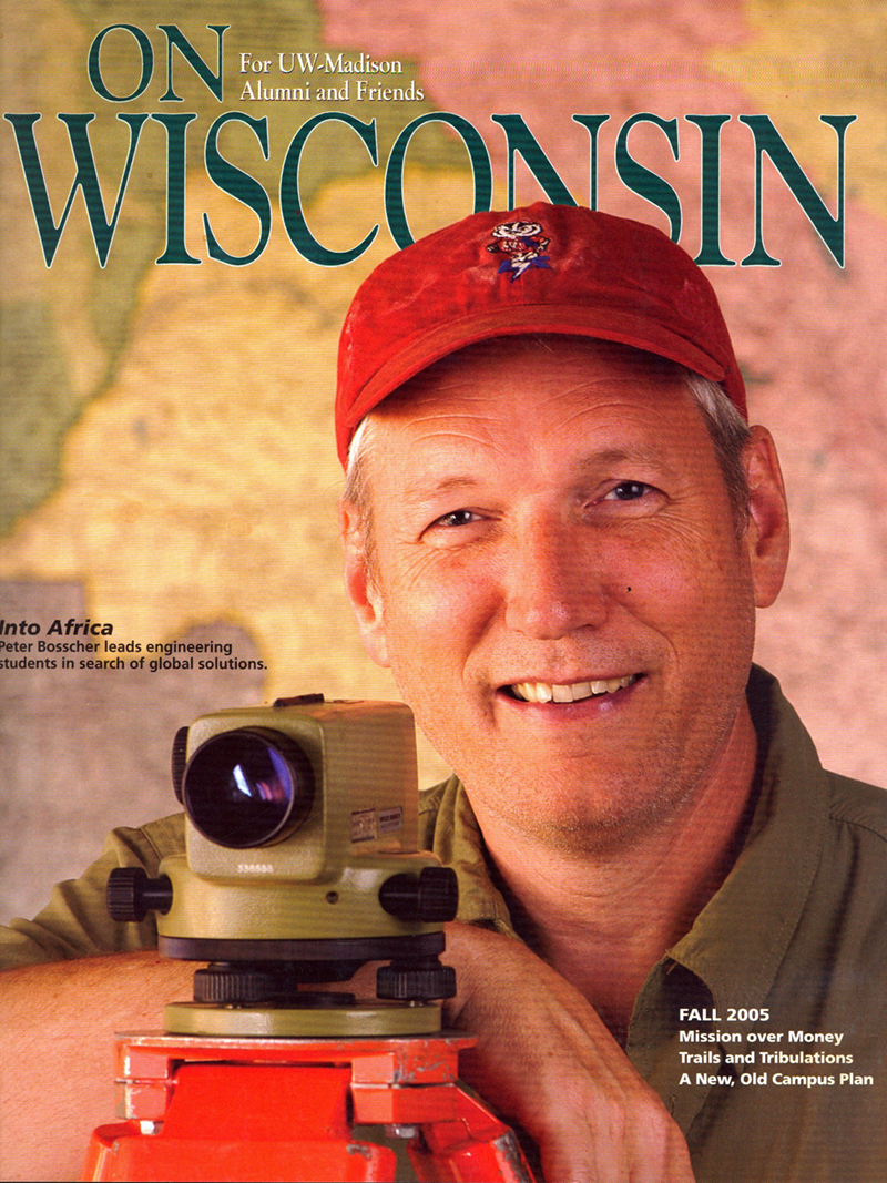 Cover from the Fall 2005 issue