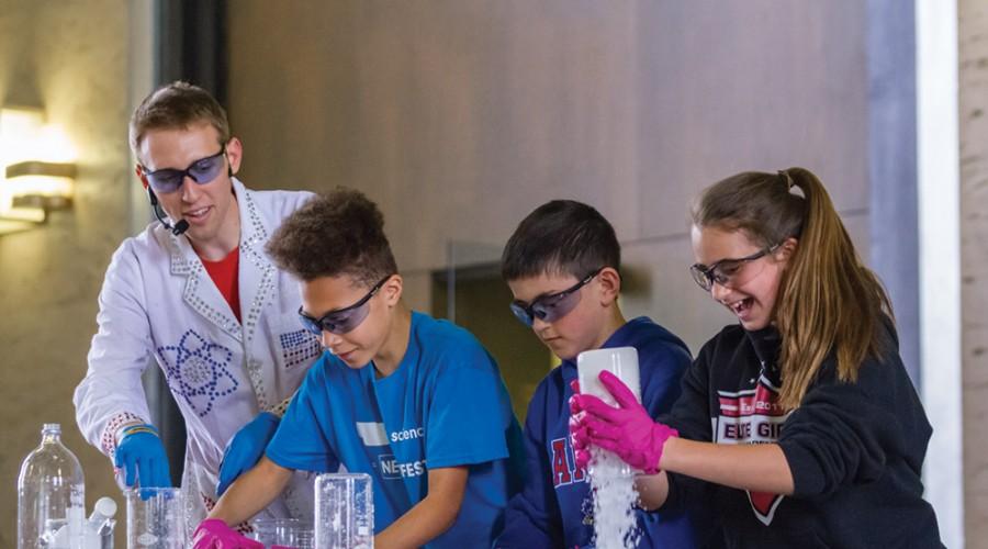 lab class kids