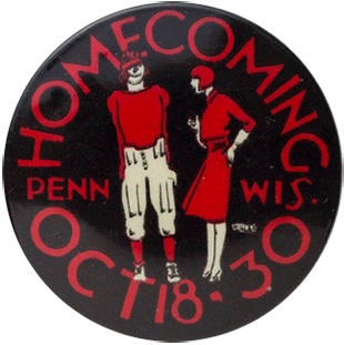 1930 Homecoming Button