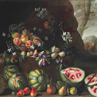 Renaissance Watermelon painting