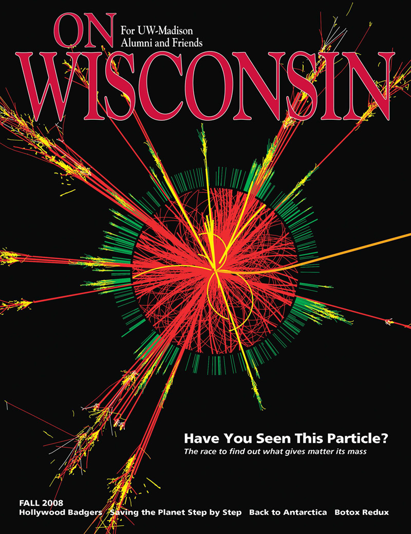 Cover from the Fall 2008 issue