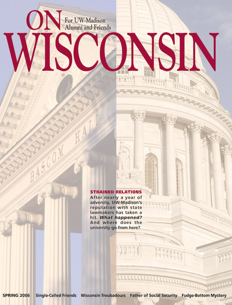 Cover from the Spring 2006 issue