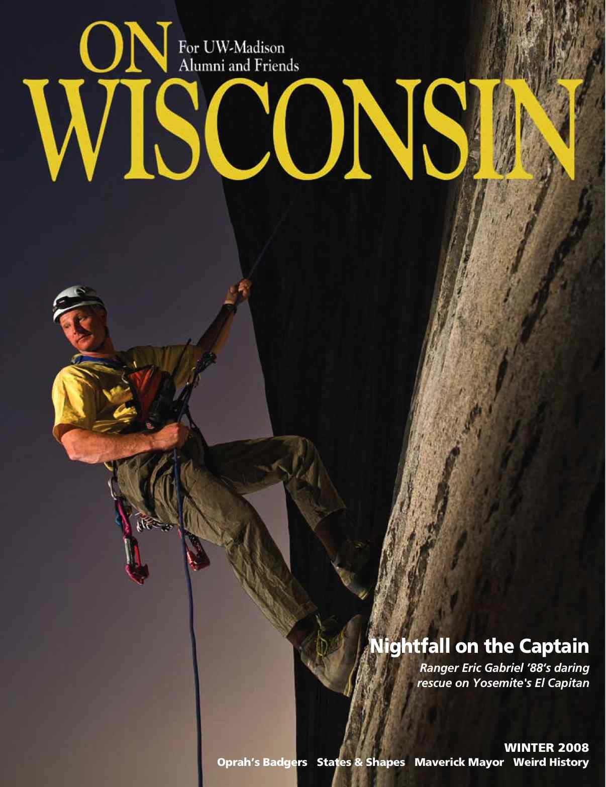 Cover from the Winter 2008 issue