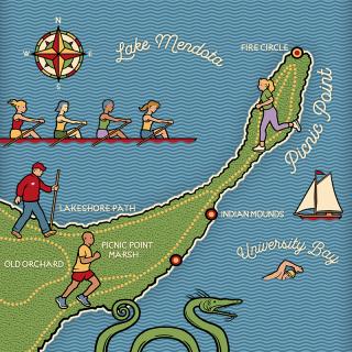 Picnic Point Illustration