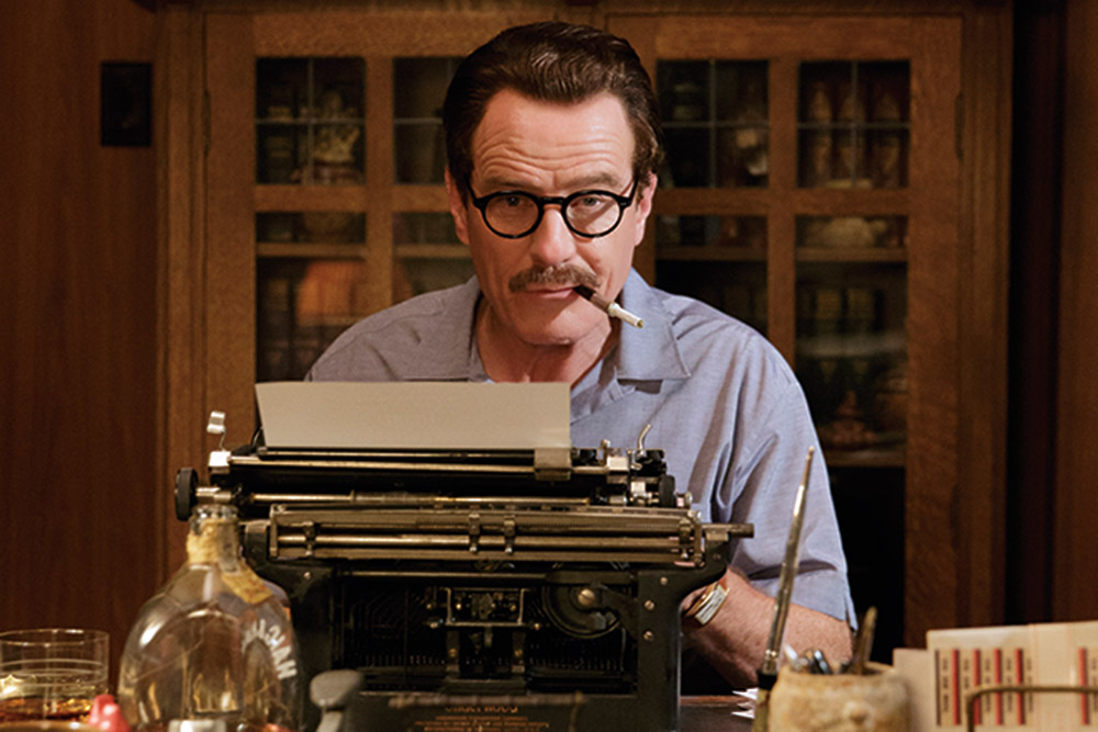 Actor Bryan Cranston received an Oscar nomination this year for his portrayal of the screenwriter. Bleeker Street Photo