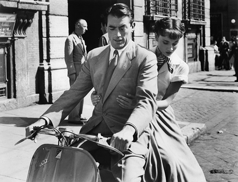 Trumbo won Academy Awards for Roman Holiday (above) and The Brave One, which he could not collect. WCFTR