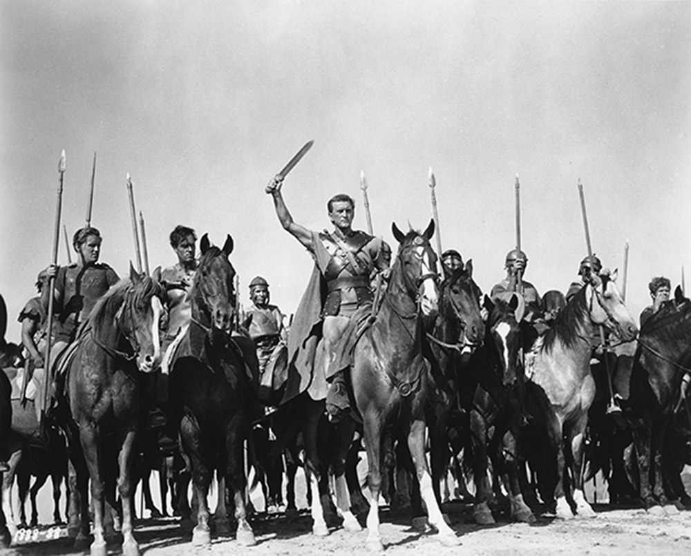 Trumbo received credit for his work on Spartacus in 1960. WCFTR