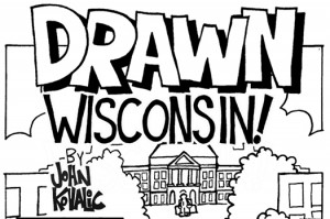 Comic reading Drawn Wisconsin by John Kovalic