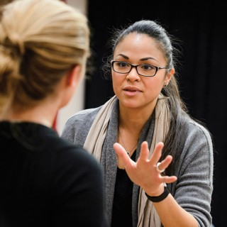 Tony-winning actress Karen Olivo