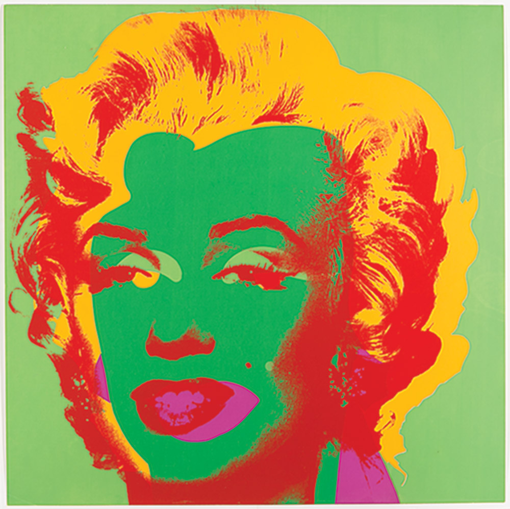 Print of Andy Warhol's Marilyn Monroe