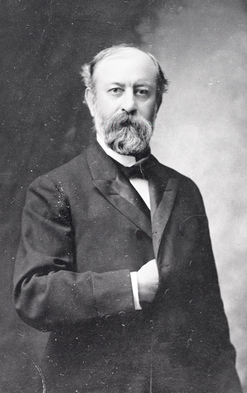 Archival photo of Henry Vilas