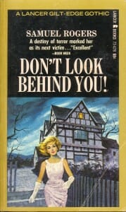 """Illustrated cover of book, """"Don't Look Behind You!"""""""