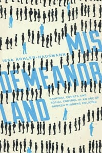 "Illustrated cover of book, ""Misdemeanorland"""