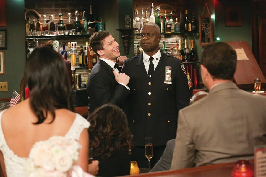 Scene from television show,