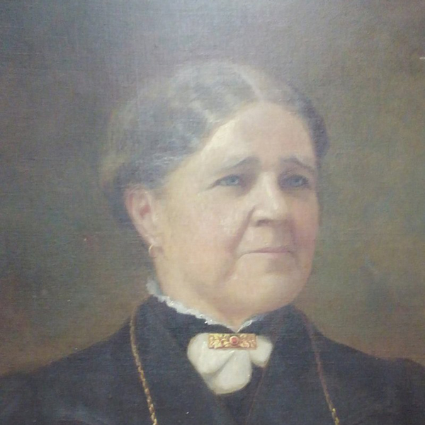 Painting of Kate Pier