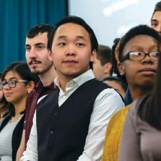 Participants in the Mercile J. Lee Scholars Program