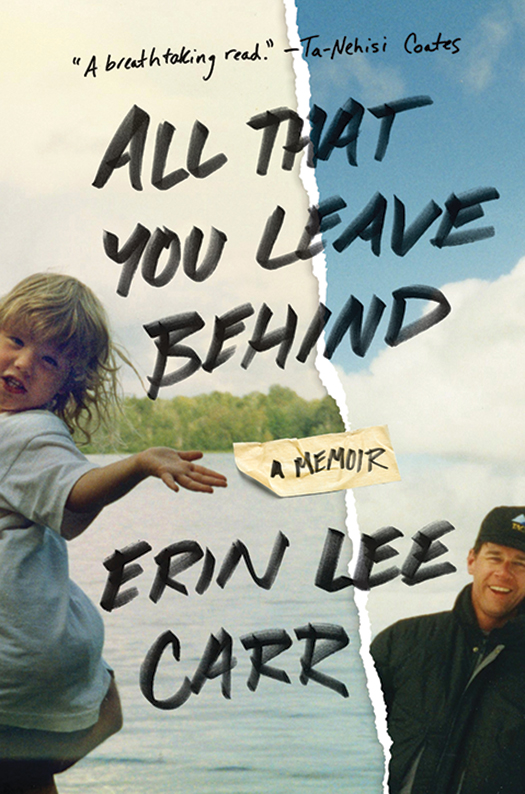 """All That You Leave Behind"" book cover"