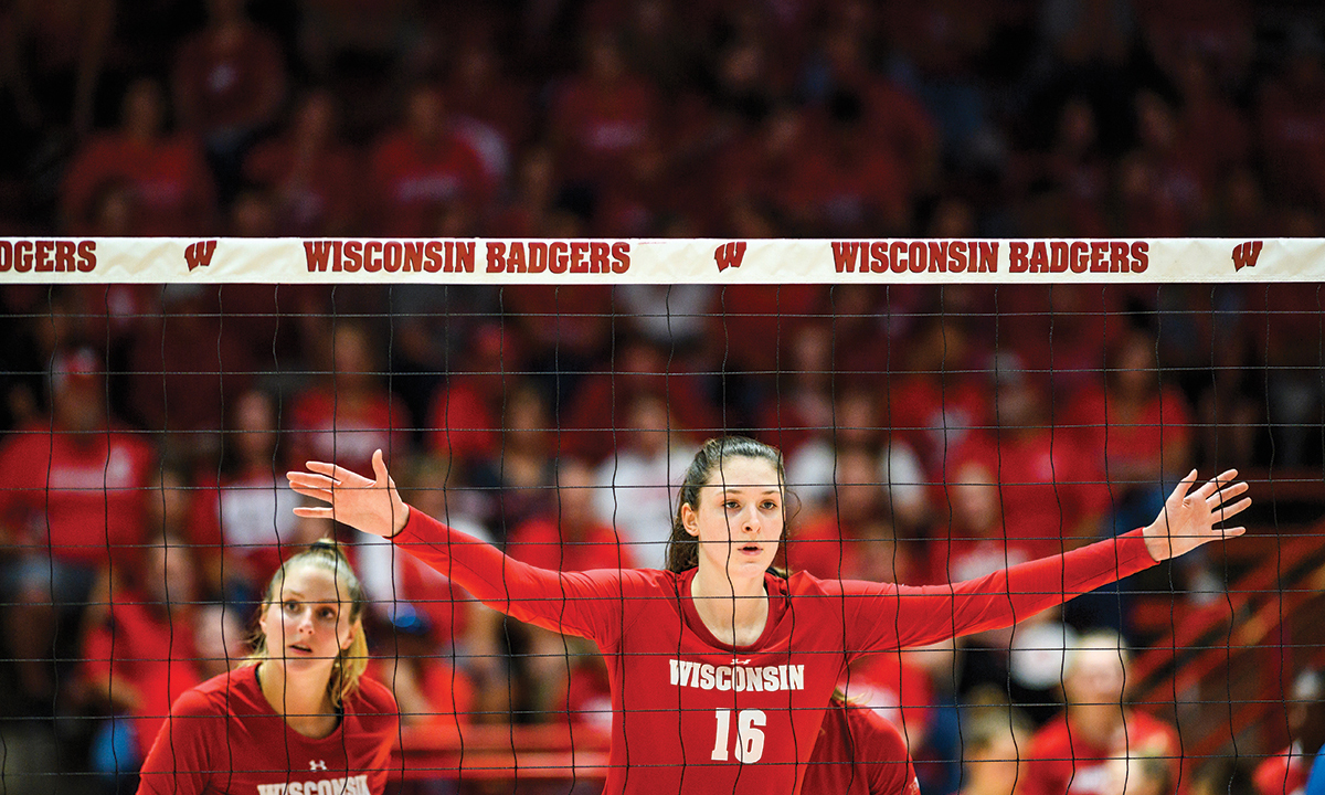Dana Rettke And Volleyball Meant For Each Other On Wisconsin Magazine