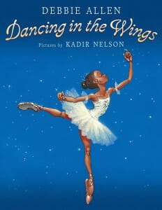 Cover of book, Dancing in the Wings by Kad