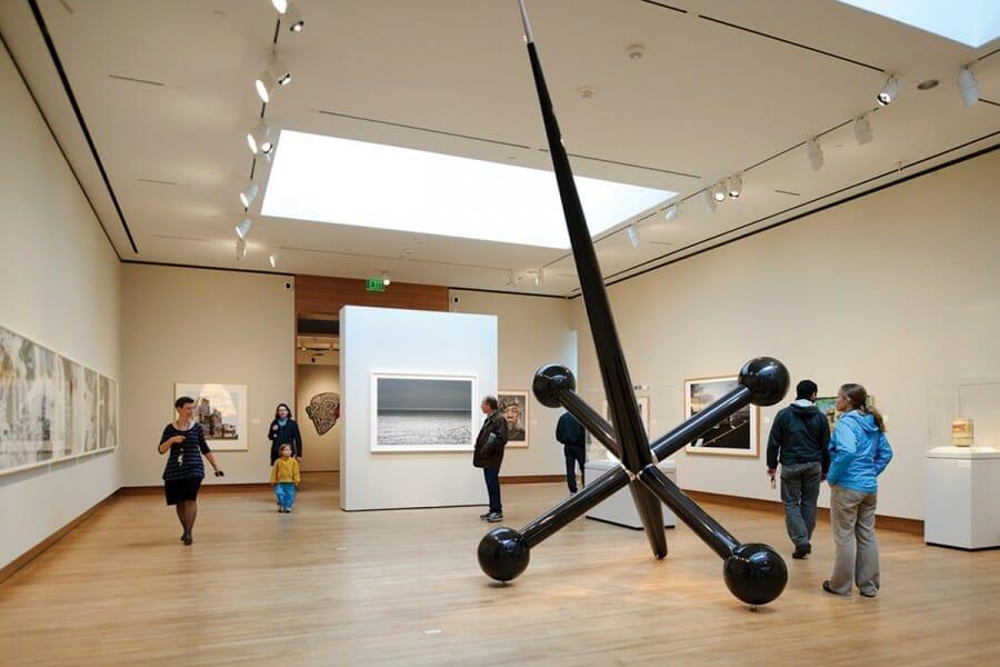 Chazen museum gallery