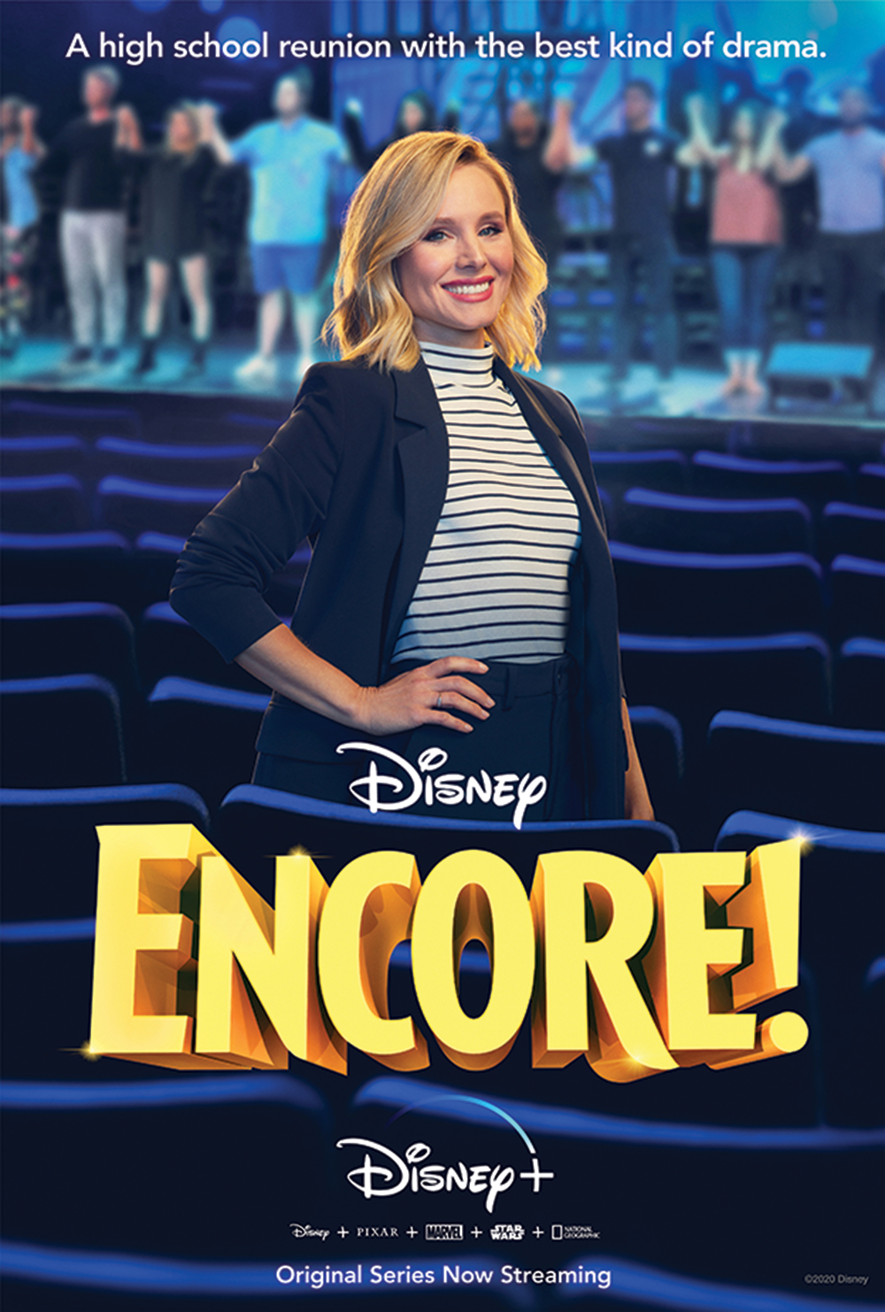 """Poster for """"Encore!"""" a documentary television series"""