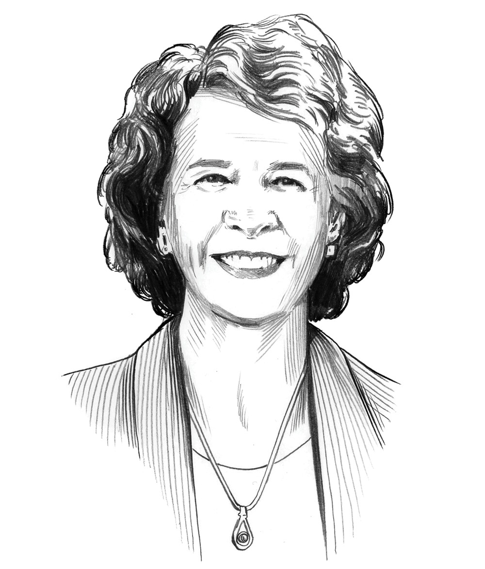 Illustration of Deb Alder