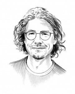 Illustration of Jesse Charles
