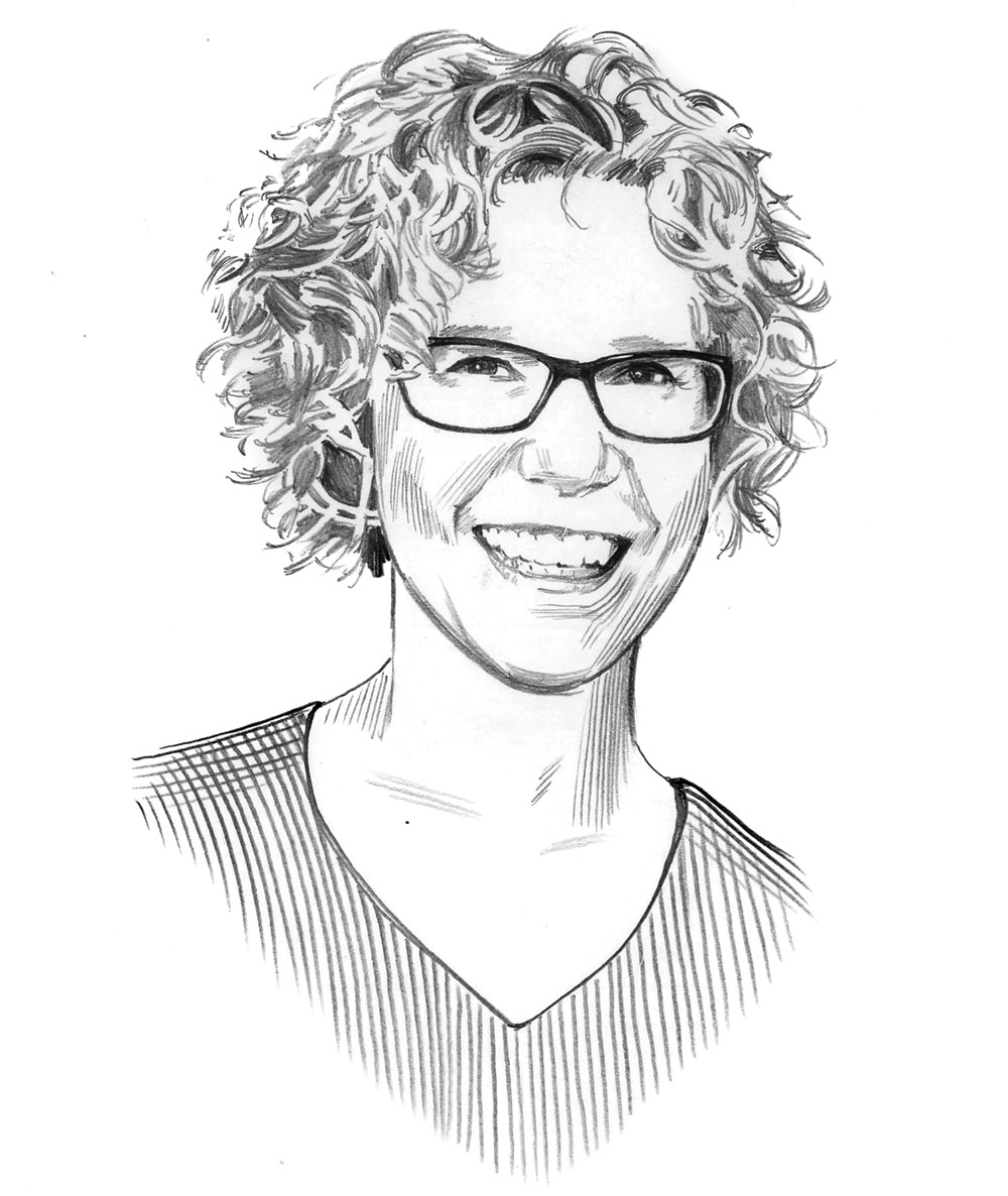 Illustration of Beth Sommerfeldt